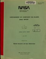 Containment of Composite Fan Blades PDF