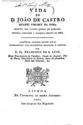 Vida de D. João de Castro: quarto viso-rey da India, Volume 25