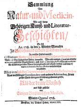Sammlung von Natur- und Medicin- wie auch hierzu gehörigen Kunst- und Literatur-Geschichten so sich von 1717-26 in Schlesien und anderen Orten begeben ... und als Versuch ans Licht gestellet: Band 3