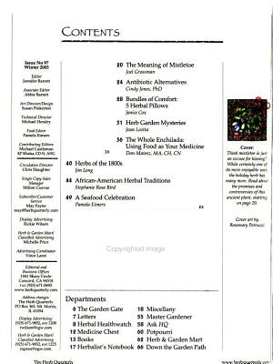 The Herb Quarterly PDF