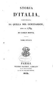Storia d'Italia ... 1490-1534: Volume 14