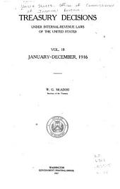 Treasury Decisions Under Internal Revenue Laws of the United States: Volume 18