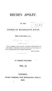 Reuben Apsley: Volume 2