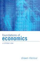 Foundations of Economics PDF