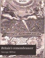 Britain s Remembrancer   CIO IOCXXVIII   PDF