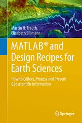 Matlab And Design Recipes For Earth Sciences Book PDF