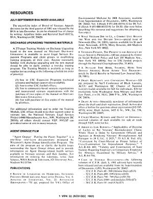 Veterans Rights Newsletter PDF