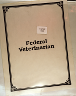 The Federal Veterinarian PDF