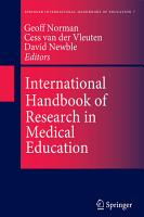 International Handbook of Research in Medical Education PDF