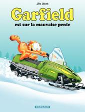 Garfield - tome 25 - Garfield est sur la mauvaise pente
