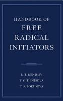 Handbook of Free Radical Initiators PDF