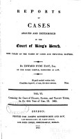 Reports of Cases Argued and Determined in the Court of King s Bench PDF