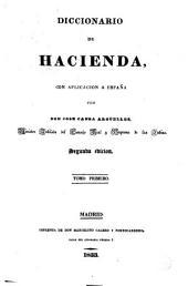 Diccionario de hacienda con aplicación a España, 1: Volumen 2