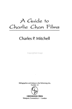 A Guide to Charlie Chan Films