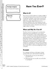 Academic Vocabulary Level 3--Writing Personal Narratives