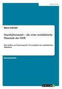 Eisenhuttenstadt   Die Erste Sozialistische Planstadt Der Ddr PDF