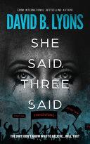 Download She Said  Three Said Book