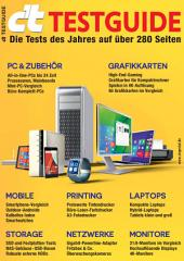 c't TESTGUIDE (2015): Die wichtigsten Tests des Jahres: PC & Zubehör, Grafikkarten, Mobile, Printing, Laptops, Storage, Netzwerke, Monitore