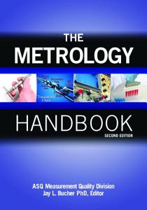 The Metrology Handbook  Second Edition PDF