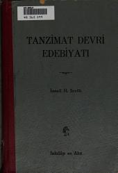 Tanzimat Devri Edebiyati