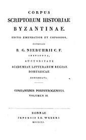 Constantini Porphyrogeniti De cerimoniis aulae Byzantinae libri duo: graece et latine, Volume 3