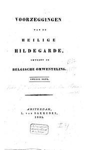 Voorzeggingen van de Heilige Hildegarde, omtrent de Belgische omwenteling