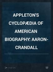 Appleton's Cyclopædia of American Biography: Volume 1