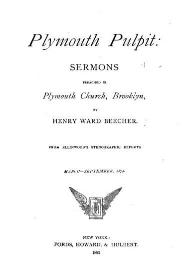 Plymouth Pulpit PDF