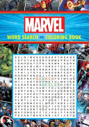 Marvel Word Search and Coloring Book