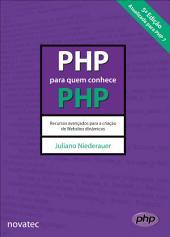 PHP para quem conhece PHP: Edição 5
