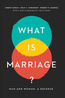 What Is Marriage?