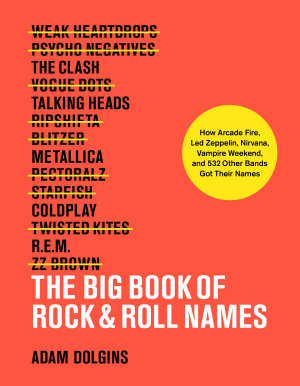 The Big Book of Rock   Roll Names