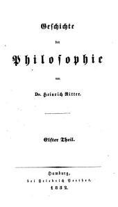 Geschichte der Philosophie: Volume 11