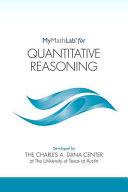Mymathlab for Quantitative Reasoning -- Student Access Kit
