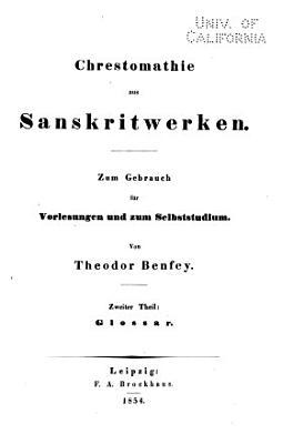 Handbuch der sanskritsprache PDF