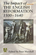 The Impact of the English Reformation 1500 1640 PDF