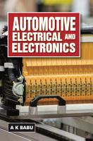 Automotive Electrical and Electronics PDF