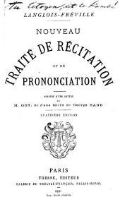 Nouveau traité de récitation et de prononciation