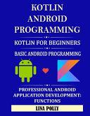 Kotlin   Android Programming PDF