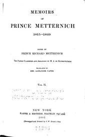 Memoirs, 1773-1835: Volume 2