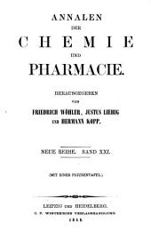 Annalen der Chemie und Pharmacie: Bände 21-22;Bände 97-98