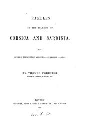 The island of Sardinia; the preface to the second edition of Rambles in the islands of Corsica and Sardinia