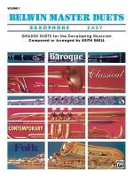 Belwin Master Duets (Saxophone), Vol 1: Easy
