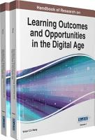Handbook of Research on Learning Outcomes and Opportunities in the Digital Age PDF