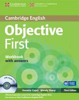 Objective First Workbook with Answers with Audio CD PDF