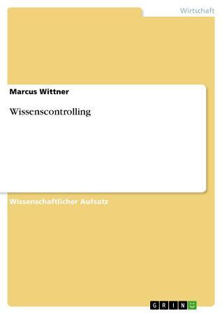 Wissenscontrolling PDF