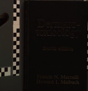 DERMATOTOXICOLOGY 4ED Book