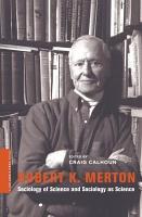 Robert K  Merton PDF