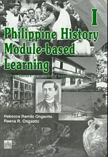 Philippine History Module based Learning i Tm  2003 Ed  Book