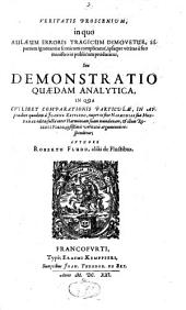 Veritatis proscenium: seu demonstratio analytica